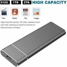 2TB externe Festplatte HighSpeed USB3.1 Solid Drive SSD für Desktop Mobile Lapto