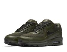 Nike Air Max 90 ESSENTIAL Cargo Khaki Black Size UK 8 EU 42.5 nos 9 537384-306