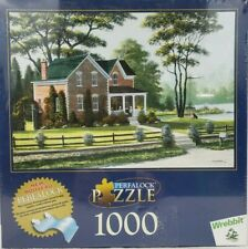 "Wrebbit Perfalock Jigsaw Puzzle 1000 Pc ""Summer Joy"" Age 12+ Bill Saunders Art"