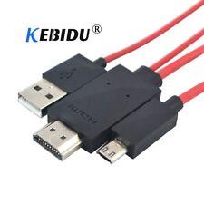 Cable adaptador MHL Micro USB a HDMI 1080P HD TV para Galaxy S5 S4 S3 Note 3 2