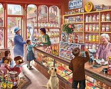 WHITE MOUNTAIN JIGSAW PUZZLE OLD CANDY STORE STEVE CRISP 1000 PCS #1083