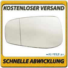 Außenspiegel Spiegelglas für VOLVO S80 2003-2006 links Fahrerseite asphärisch