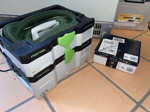 Festool Absaugmobil CTL SYS CLEANTEC Staubklasse L, gebraucht + 5 Saugerbeuteln