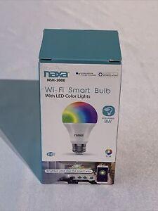 Naxa NSH-2000 Life/Alexa/Google Home Home Network Wi-Fi Smart Bulb