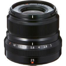 New FUJIFILM XF 23mm f/2 R WR BLACK Lens  FUJI