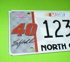 #40 Coors Lite SM NASCAR NC North Carolina License Plate Sample Motorsports