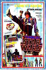 The Turkish Star Wars on DVD with English Subtitles, sealed in plastic