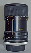Tamron 35-70mm F3.5-4.5 Zoom Lens Adaptall 2 Mount & canon FD adapter