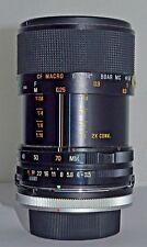Tamron 35-70mm F3.5-4.5 Zoom Lens Adaptall 2 Mount Adattatore & Canon FD