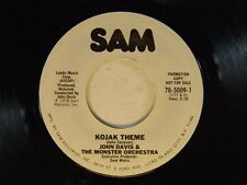 John Davis Monster Orch. 45 Theme from Kojak / Whatever Happened To Me & You ~M-