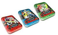 Lego® Ninjago™ Serie 5 Trading Card Game -3 verschiedene leere Mini Tin Dosen