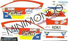 DECAL CITROEN C4 WRC VEKA-EUROL-AUTO ALTENA RALLY 2012 VERSLUIS 1/24 JAWI DECALS