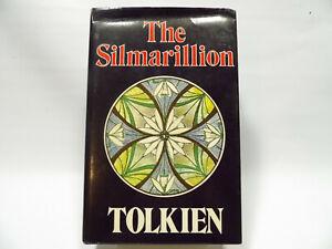 The Silmarillion J.R.R. Tolkien 1st Edition 4th Impression 1977 Very Good