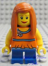 TORSO F018 Lego Female Dark Pink Spacesuit w// Belts  Genuine Lego Intergalactic
