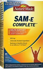 Nature Made SAM-e Complete 200 mg Tablets 60 Counts, Supporting Joint Comfort