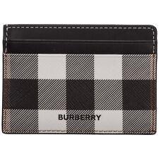 Burberry credit card holder men 80366721 leather case wallet