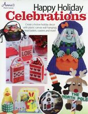 Happy Holiday Celebrations 66 Pages Plastic Canvas PATTERN/INSTRUCTIONS NEW