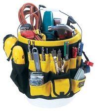 5 Gal Bucket Tool Storage Organizer Electrician Carpenter Tools Bag Multi Pocket