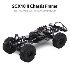 AUSTAR 313mm Radstand Chassis Metall Rahmen für 1/10 AXIAL SCX10 II RC Auto DIY