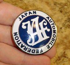 PLACCA JAF Japan Automobile Federation BADGE HONDA TOYOTA DAIHATSU MITSUBISHI