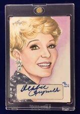 2014 Leaf Debbie Reynolds Autographed 1/1 Sketch Card Signed By Rhiannon Owens