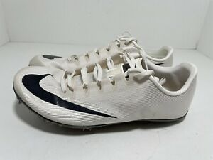 Nike Zoom 400 Track and Field Spikes White AA1205-002 Men's Size 6