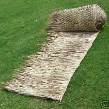 "COMM 36""x 60' Mexican Palapa Tiki THATCH ROLL Palm Thatching"