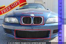 GTG 1996 - 2002 BMW Z3 3PC Gloss Black Overlay Combo Billet Grille Grill Kit