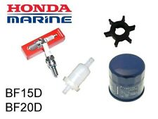 Honda 15/20hp BF15D/BF20D Outboard Service Kit (No Oil) (Impeller Spark Plug)