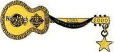 Hard Rock Cafe TOKYO 2000 Libra BIRTHDAY GUITAR PIN Zodiac Dangler - HRC #9997