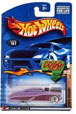 2002 Hot Wheels #107 Hot Rod Magazine Purple Passion E910 crd