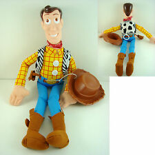 "NEW ARRIVAL Disney TOY STORY WOODY 16"" Soft Plush Doll Toy + CHARM"
