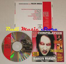 CD ROCK STAR VOL 8 fallen angels MARILYN MANSON LACUNA COIL FEEDER no mc (C12)