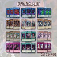 UNCHAINED DECK 36 | Anguish Abomination Rage Rakea Disaster Aruha Prison YuGiOh