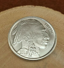New Listing2015 1 Oz .999 Fine Silver Buffalo Indian Head Round Bullion *Nice*