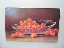Ansichtskarte Stilleben Erdbeeren F.E.D. No. 361 um 1910?