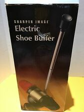 SHARPER IMAGE Electric Shoe Shine Buffer Polisher Model C825 NEW IN BOX
