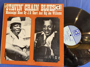 JD SHORT BIG JOE WILLIAMS STAVIN DELMARK DL 609 ORIGINAL USA LP EXC+