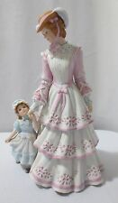 "Lenox  SUNDAY IN THE PARK 9"" Bisque Porcelain Figurine Mother & Child"