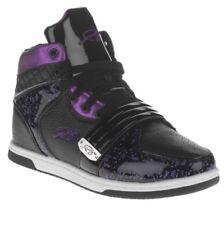 FUBU - Womens Alexa High Top Shoes - Sz 9.5 - Black/Purple - NIB