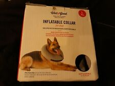 Well & Good Inflatable Collar for Dogs L/ XL, Neck Size 20-27 IN - EUC