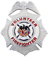 Volunteer Firefighter Badge by Smith & Warren in Goldtone