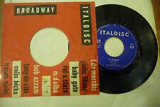"MINA""E' VERO/PERDONIAMOCI-disco 45 giri ITALDISC it 1959"""