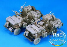 Legend Productions 1/35 SAS Jeep Conversion Set (for 2 Vehicles) for Tamiya