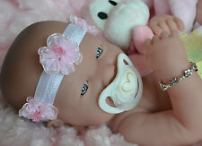 PJs  ♥ BERENGUER LA NEWBORN ♥ WITH MANY EXTRAS ♥ BABY GIRL DOLL 4 REBORN / PLAY