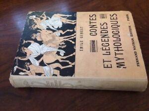 CONTES ET LEGENDES MYTHOLOGIQUES/Emile GENEST/NATHAN 1933 DT