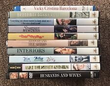 Woody Allen DVD & Blu-Ray (Lot of 10 Movies)