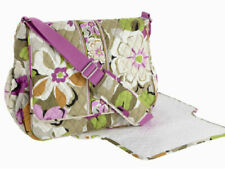 Vera Bradley Messenger Cross-body Shoulder Bag Baby Bag w/ Changing Pad $118