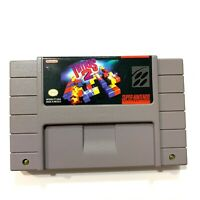 Tetris 2 SNES Super Nintendo Game - CLEANED TESTED AUTHENTIC!
