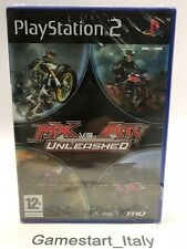 MX VS ATV UNLEASHED - SONY PS2 - VIDEOGIOCO NUOVO SIGILLATO - NEW SEALED PAL